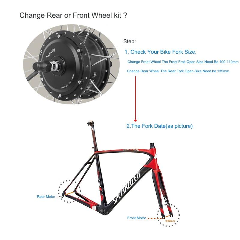 e bike kit, step 1