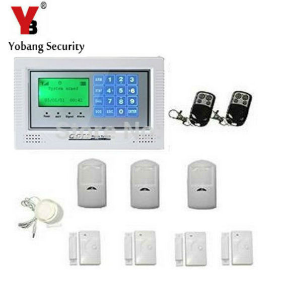 YobangSecurity Russian/Spanish/French /Italian/Czech Wireless Home Door Window Burglar Safety Security ALARM System Door Sensor high quality hot sale 100db wireless alarm system burglar safely security window door home magnetic sensor best promotion