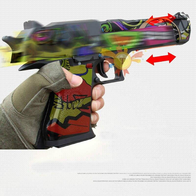 RX 617 désert aigle Gel balles Blaster eau jouet pistolet Auto mag-fed matériel nylon électrique