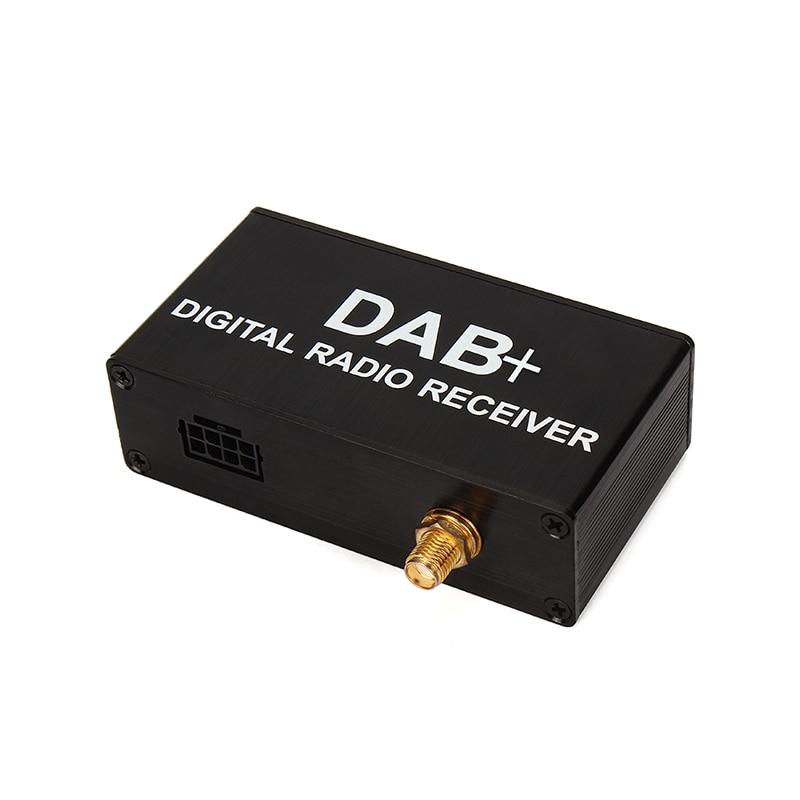 imágenes para Calabaza Caja Externa Agregar DAB DAB + Radio Digital con Control Táctil Para Android de DVD Del Coche