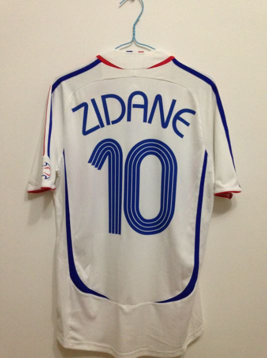 newest 64f16 62c1c Heat! Retro France 2006 World Cup Jersey fans of Zidane-in ...