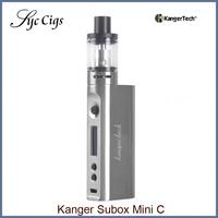 Oryginalny KangerTech KBOX Subox Mini C Starter Kit 50 W Box Mod Protank 5 Atomizer SSOCC vape Parownik e elektroniczny papierosów