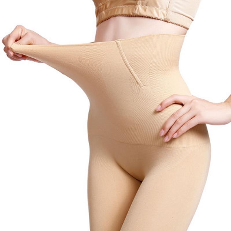 Sexy Postpartum High Waist Abdomen Pants Corset Hip Body Shaping Pants Plus Size Shaper Panties Black Skin Slim Underwear