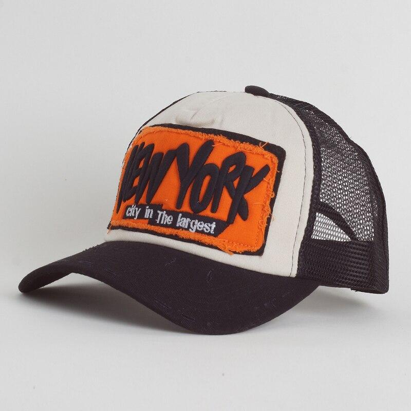 Summer Baseball Cap Embroidery Mesh