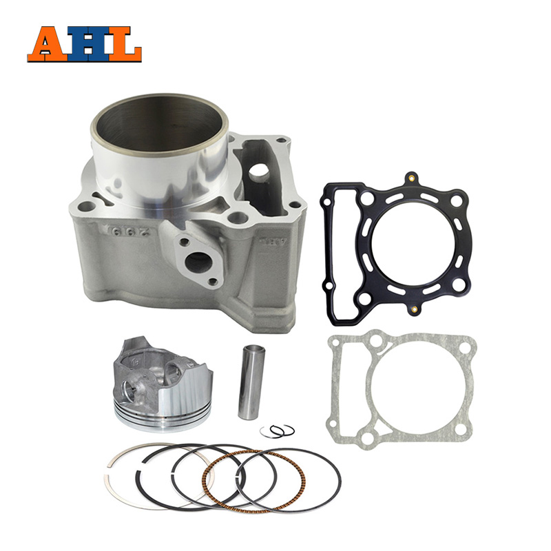 AHL 78mm Moto Cylindre D'air Kit S'asseoir Pour Kawasaki KLX250 1993-2014 KLX300 1996-2007 Bloc & piston et Tête/Joint D'embase Kit