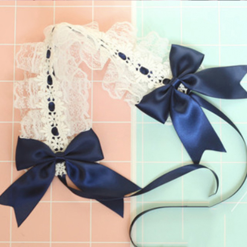 Красивые длинные кудрявые женские волосы Косплей парик синтетический парик Лолита каваи синие волосы женские модные девушки Лолита парик милый уникальный - Цвет: Headwear Only