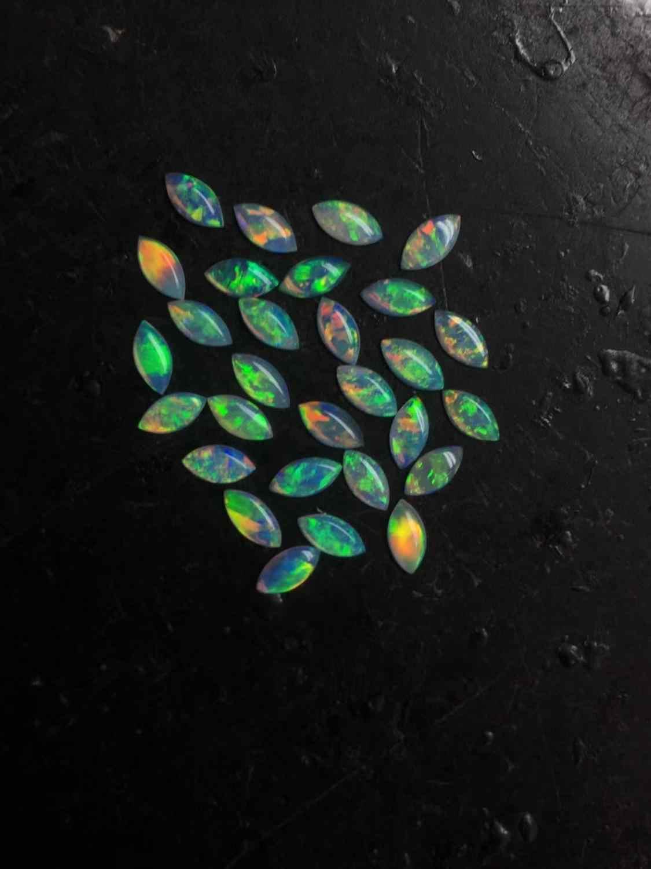 Opal kamień szlachetny 2.495ct 30 sztuk naturalny Opal kamienie szlachetne 525 Australia pochodzenia luźne kamienie pojedyncze kamienie kamienie szlachetne do tworzenia biżuterii