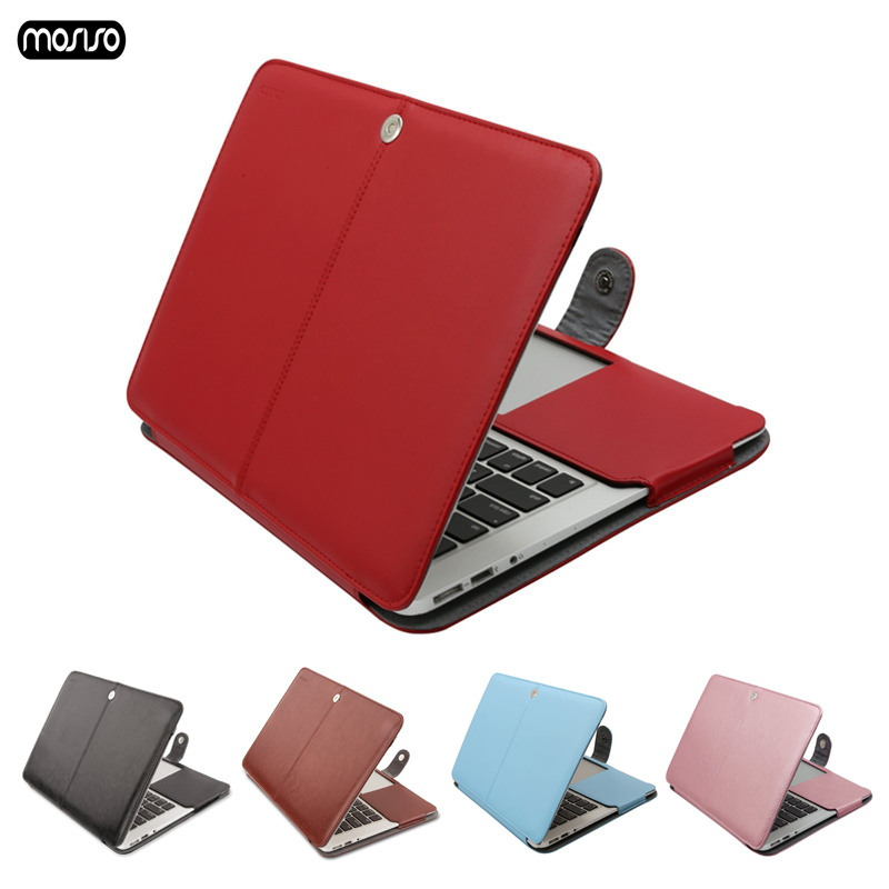 MOSISO Newest PU Leather Case for font b Macbook b font Air 13 inch Model A1466