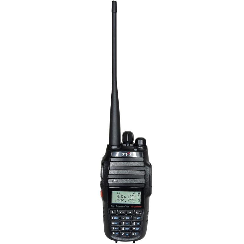 TYT TH UV8000D Ham Radio 10 Watt woki toki UHF or VHF walkie talkie long range 10km Dual Band Two Way Radio in Walkie Talkie from Cellphones Telecommunications