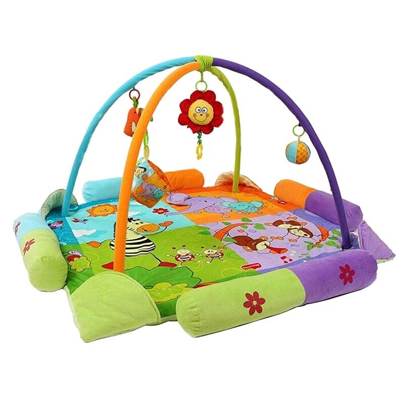 Bébé jouer & Fitness tapis, dessins animés activités couvertures