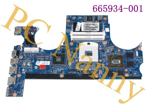 FOR HP Envy 17 17T 17T-3000 HD6770M Intel Laptop Motherboard s989 665934-001 tested