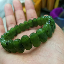 natural nephrite /canadian jade stone beads bracelet natural gemstone bracelet DIY jewelry for woman for gift wholesale ! juleecrystal natural amethyst stone beads bracelet fine jewelry wholesale gemstone bracelet for woman gifts