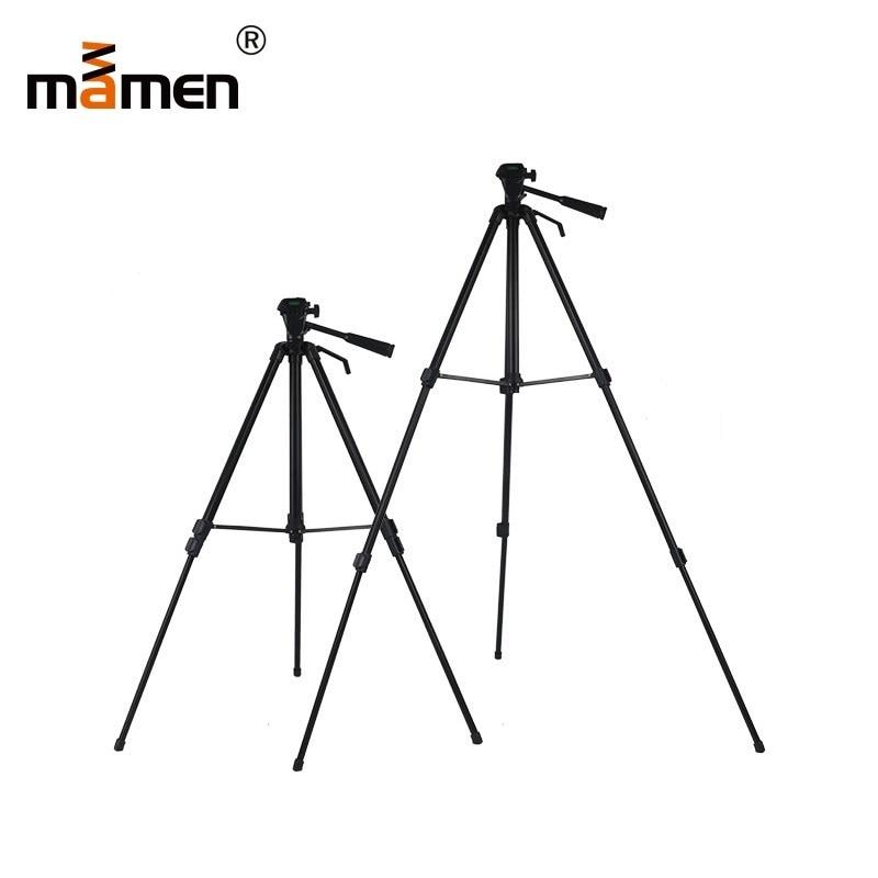 MAMEN Profesional Adjustable Camera Tripod Stand For Canon Nikon Sony DSLR Camera Camcorder With Mini Tripod Clip Set For Phone