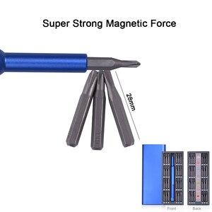 Image 3 - NEWACALOX tamir kiti 1 in 1 çok aracı manyetik tornavida seti hassas alet kiti tamir dizüstü telefon izle alaşım durumda