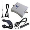 Mini 900/1800MHz 45dB mobile cell phone car signal booster Wireless Power Repeater amplifier extender kit for car use