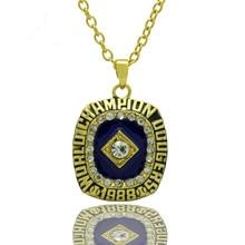 New Arrival Punk Style Sport Jewelry 1988 LA Dodgers Championship Pendants Necklace For Women & Men Wedding