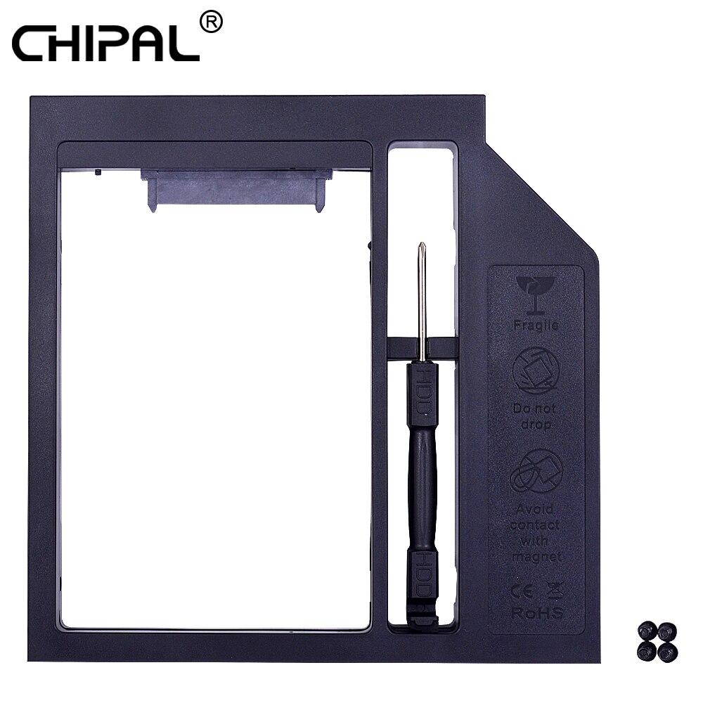 Externer Speicher Gut Ausgebildete Chipal Kunststoff Universal Sata 3,0 2nd Hdd Caddy 12,7mm Für 2,5 2 Tb Festplatte Ssd Fall Gehäuse Für Notebook Cd-rom Dvd-rom
