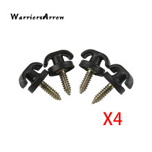WarriorsArrow 4 шт. задний багажник конверт Грузовой Чистая сковать крюк кольцо Петля Висит аксессуары