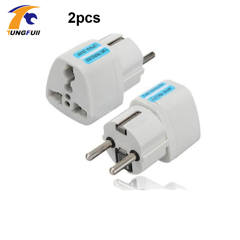 Fast Shipping Europe Plug Converter Socket Adapter Different Countries Use When Using Chinese Electronics