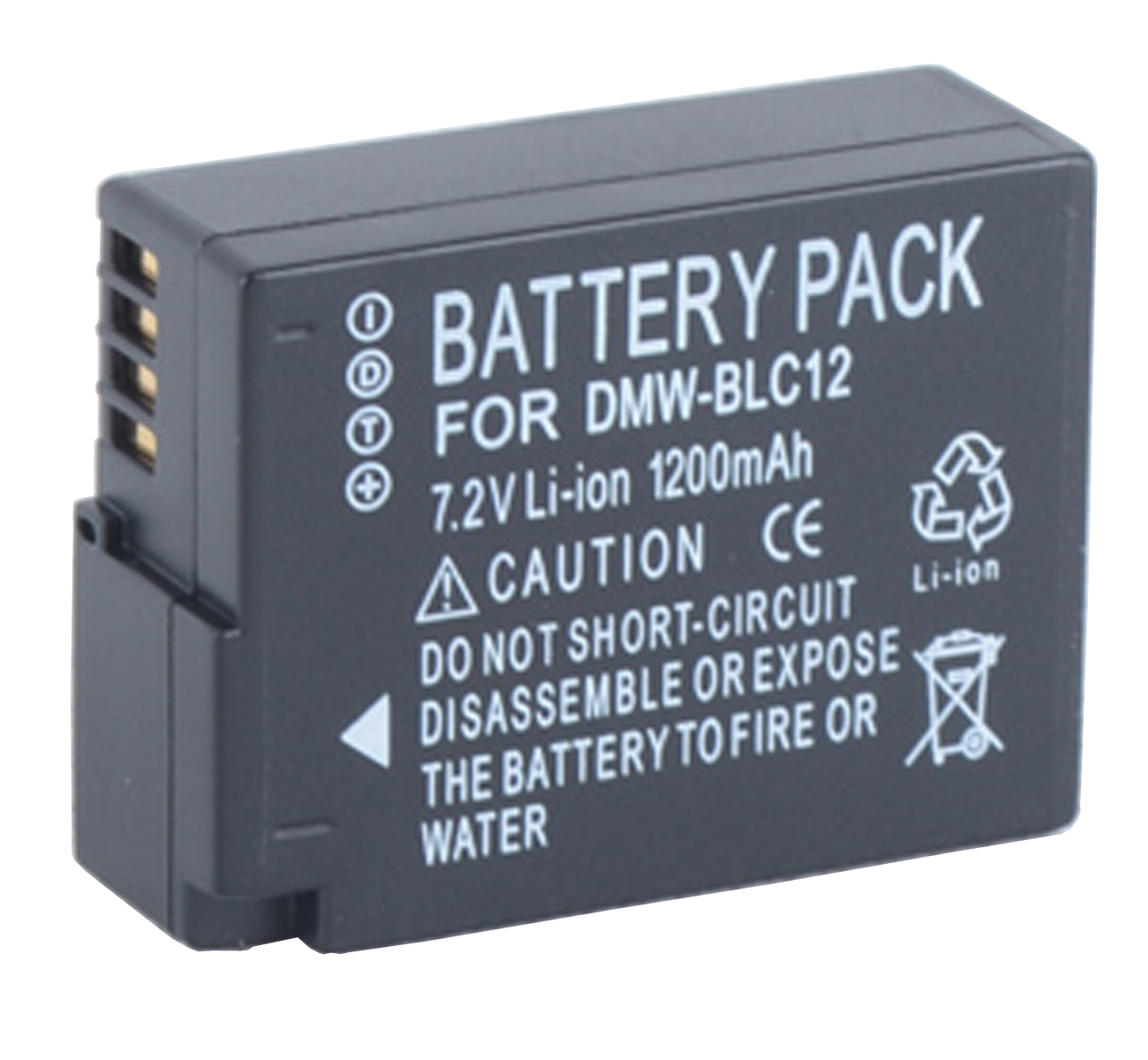 Battery Pack for Panasonic Lumix DMC-FZ200, DMC-FZ300, DMC-FZ330, DMC-FZ1000, DC-FZ10002, DMC-FZ2000, DMC-FZ2500 Digital Camera image
