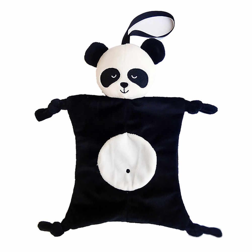 O bebê caçoa a Confortante mistura de Algodão Brinquedo De Pelúcia Animais Boneca Multifuncional saco de Dormir Crianças Boca Toalha 2018