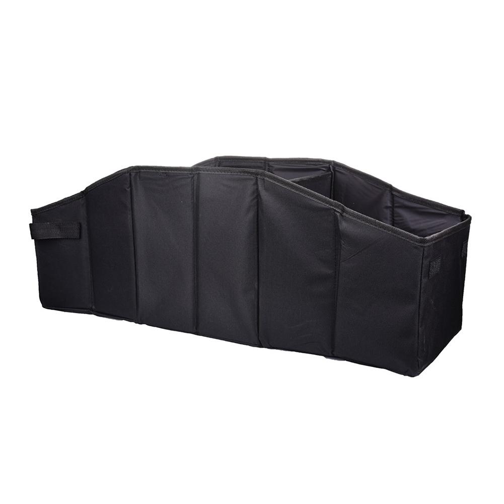 Universal models Waterproof Black Multi-functional Foldable Storage Box Car Trunk Organizer for Car and Vehicle