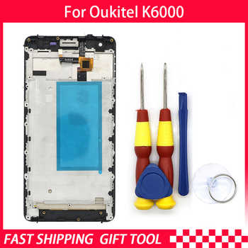 New original Touch Screen LCD Display For Oukitel K6000 Digitizer Assembly With Frame Replacement Parts+Disassemble Tool - DISCOUNT ITEM  5% OFF Cellphones & Telecommunications