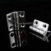 Free Shipping 304 Stainless Steel 1.5 Inch Thickness 2mm Industrial Machinery And Equipment 35*37*2mm Hinge HM177