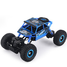 RC Car  4×4 Driving Car 2.4G 4CH 4WD Rock Crawlers Double Motors Drive Bigfoot Car Remote Control Model Off-Road Toy Foam Box