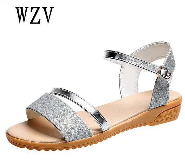 8a4639c241 2018 New Spring Summer Women sandals female robe thick platform buckle with  Roman light Black sandals shoes E053