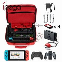 Покемон Гоу плюс Чехол для переключателя, аксессуары для Pokeball, портативный ЭВА, большая сумка для хранения, Nintendo doswitch, консоль для игры