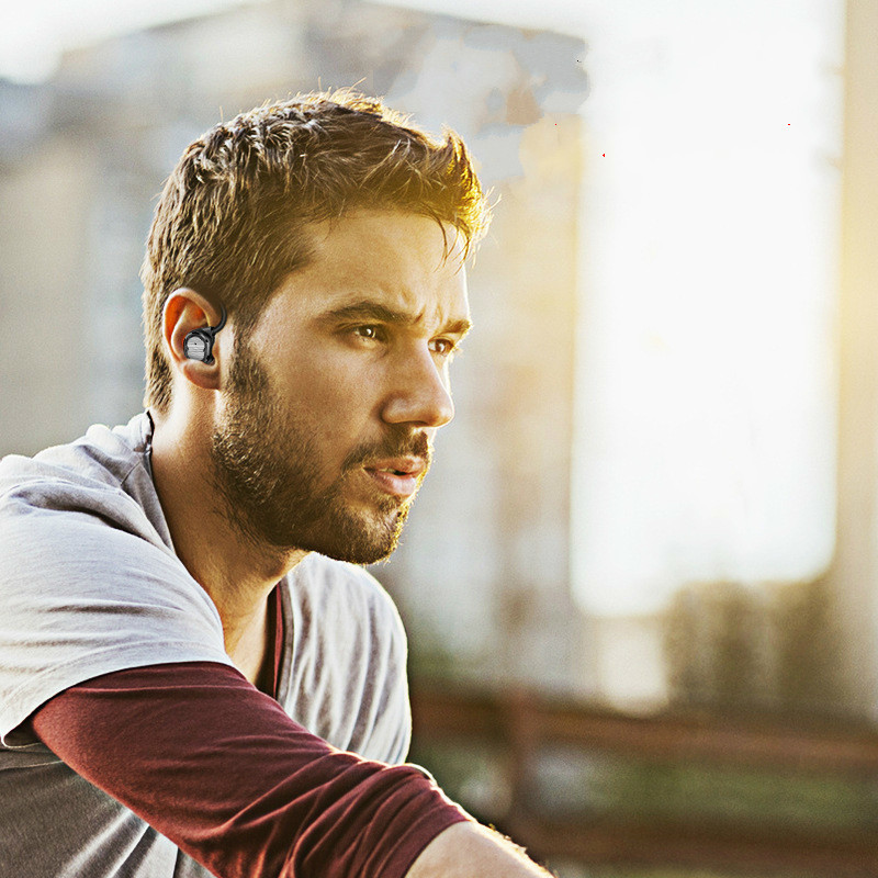 Single Ear Wireless Earphones Stereo Sports Earbuds TWS Bluetooth Headphones 4 2 Noise Cancelling With Charging Box For Phone in Bluetooth Earphones Headphones from Consumer Electronics