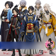 Japanese Anime figure Touken Ranbu Online Mikazuki Munechika/Tsurumaru Kuninaga/Nakigitsune  Action Figure Model Toys