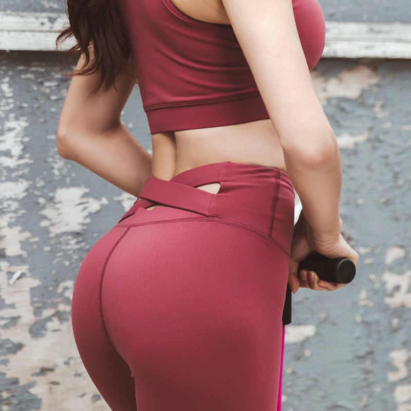 Для женщин штаны для йоги Леггинсы полной длины спортивные штаны женские, с высокой талией штаны для йоги Тренажерный зал Акула бесшовные леггинсы оптовая продажа
