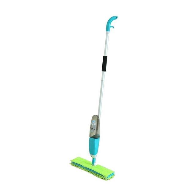 dual side spray mop microfiber cloth floor tile cleaning mop