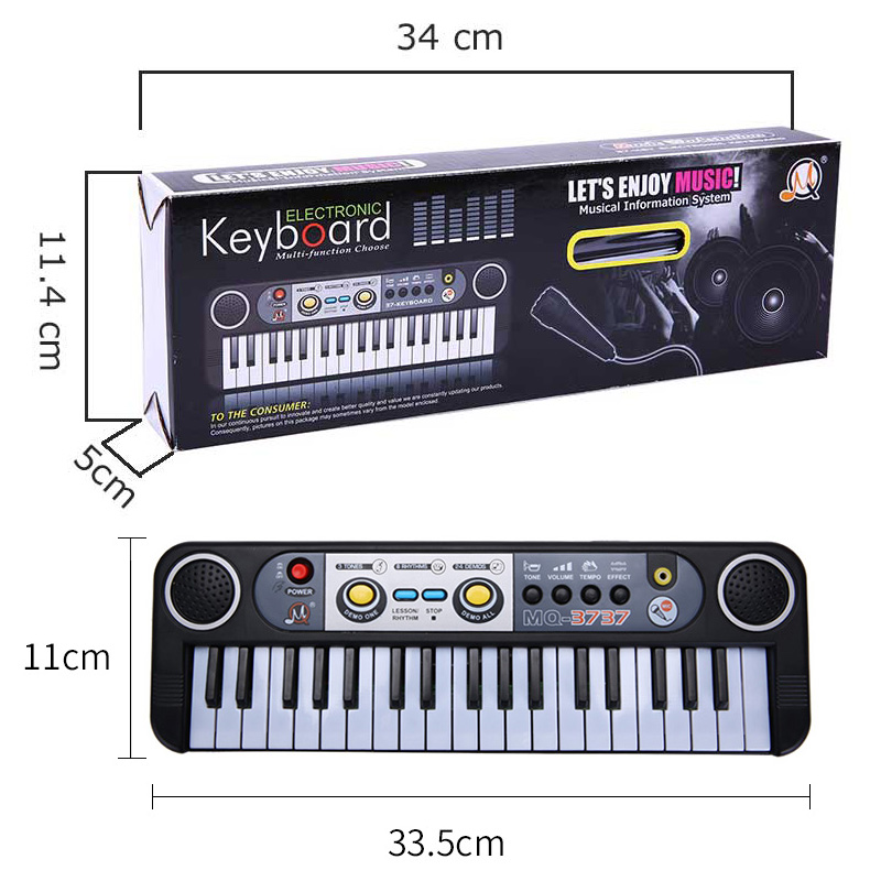 37-Keys-Kids-Piano-Black-keyboard-Musical-Educational-Toys-For-Children-Kids-Musical-Instrument-Professional-Musical-Toys-Gift-5