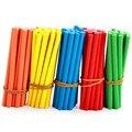 100 шт. цветные бамбуковые Счетные палочки, учебные пособие по математике, счетная удочка для детей дошкольного возраста, математические обу...