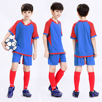 Children's Soccer Uniforms Boy and Girle Shirt Suit Breathable Football Training Suit Team Uniforms Diy Shirt