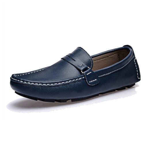 2016Driving Genuine Leather Moccasins Loafers Mens Slip Casual Flats Shoes Man Solid Soft Men's Shoe - China Resources Store store