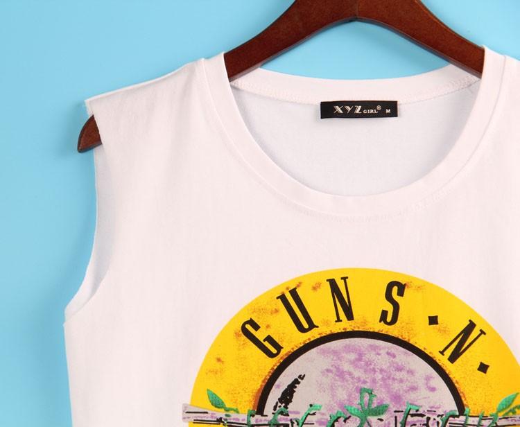 HTB1Nr6wJFXXXXamXVXXq6xXFXXXX - 2 Colors Sexy T Shirt GUNS N ROSES Print T-shirt Sleeveless