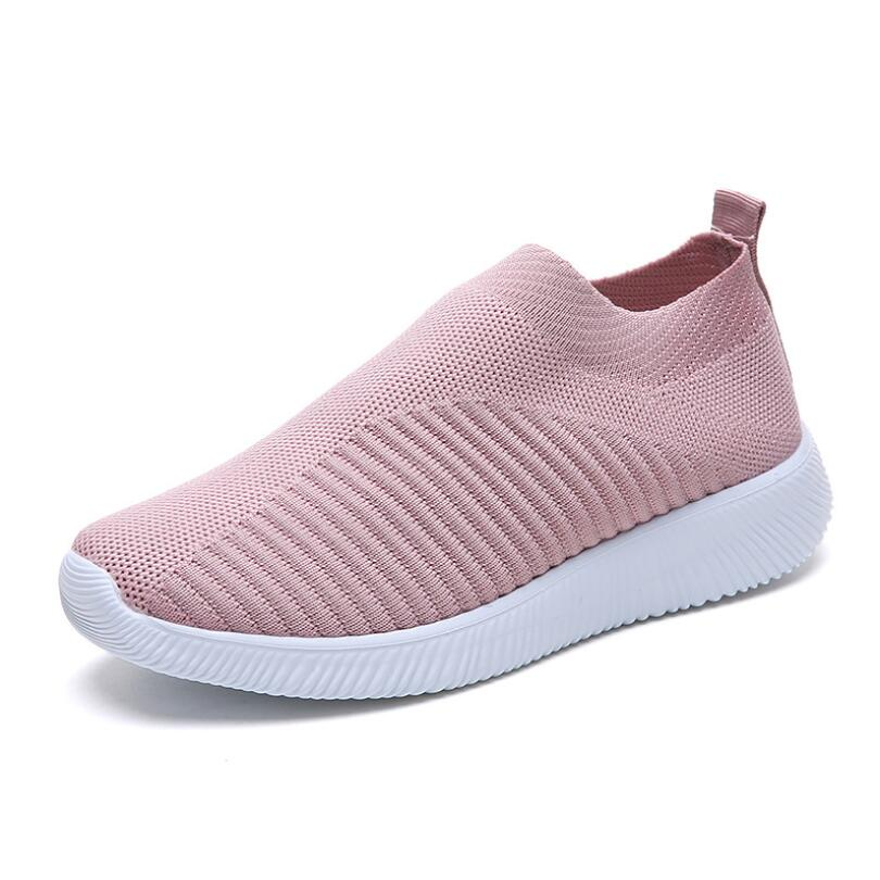 New Women Sneaker Stretch Knitting Shoes Spring Flats Mesh Breathable Casual Sock Shoes Female Drop Shopping Plus SizeNew Women Sneaker Stretch Knitting Shoes Spring Flats Mesh Breathable Casual Sock Shoes Female Drop Shopping Plus Size