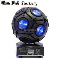 9x10W RGBW 4in1 Led Football Moving Head Light/Led Dj Disco Ball Light/Stage
