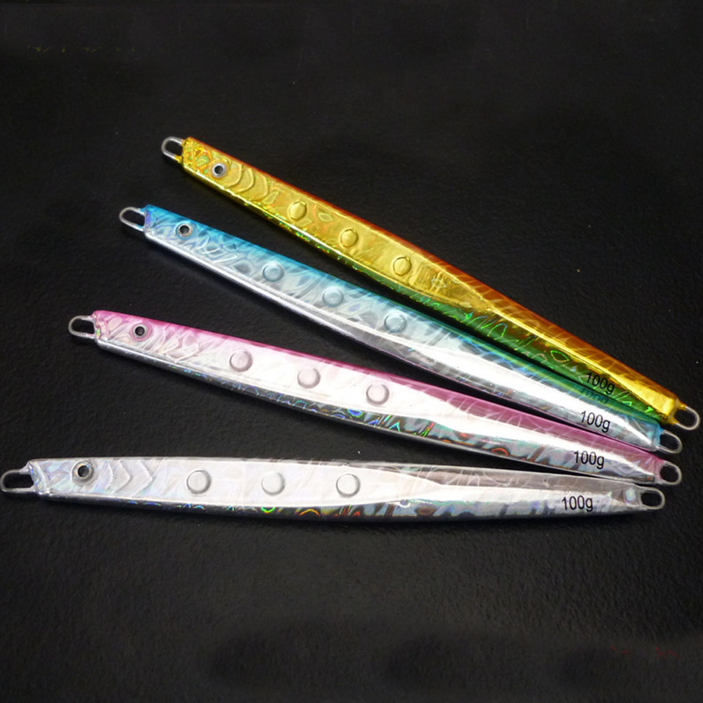 5PCS Fishing Deep sea Jigging Metal Jig Spoon Lure Jigbait spoon Hook Spinner baits 100G 150G 200G 300G Free shipping
