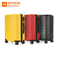 Xiaomi 90 Fun PC Suitcase Colorful Carry on Spinner Wheels Rolling Luggage TSA lock Business Travel Vacation for Women Men