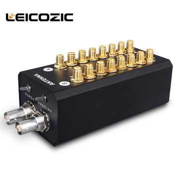 Leicozic 8 channels Signal Amplifier Antenna distributor system audio RF distributor for Recording Interview Wireless Microphone - DISCOUNT ITEM  0% OFF All Category