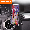 SHINEKA Voiture Téléphone Support pour Jeep Wrangler JK 2011-2018 Boisson Tasse Téléphone Titulaire Boulon-sur le Stand Organisateur pour Jeep Wrangler JK
