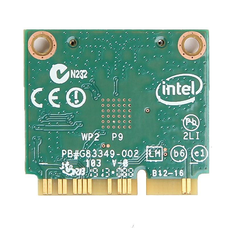 Image 3 - Dual band For Intel Wireless N 7260 7260HMW AN Half Mini Pci e 300Mbps Wireless Wifi + Bluetooth 4.0 Notebook Wlan card-in Network Cards from Computer & Office