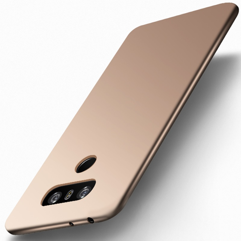 X-LEVEL Phone Case for LG G6 Cover Guardian Series Matte Rubberized TPU Mobile Phone Back Covers for LG G6 Capa Coque- Gold