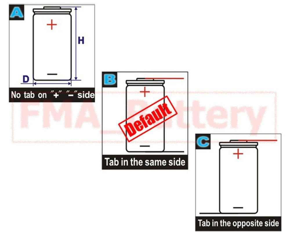 Sebuah Alat Cukur Listrik Alat Cukur Baterai Ni-mh 2/3AA 1.2V 700 MAh DIY Telepon Sel