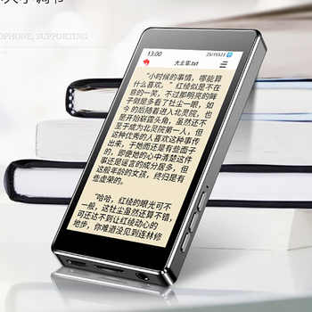 ruizu d20 Metal MP4 Player Built-in Speakers 3.0 Inch Touch screen Ultra thin 8GB MP3 Music Player Video playback with FM E-book